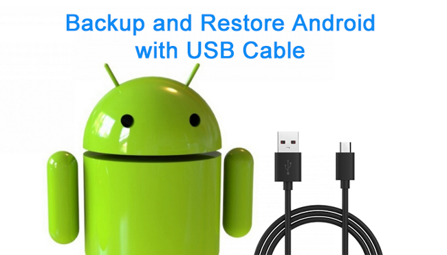 restore android by usb cable