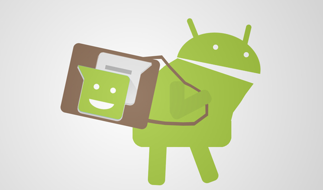 back-up android sms