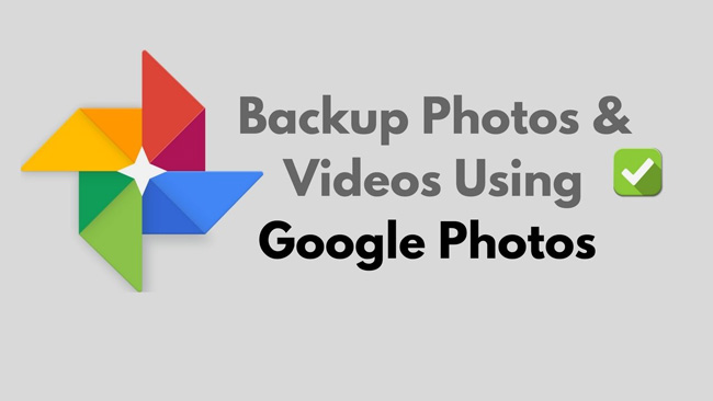 recover photos Using Google Photos