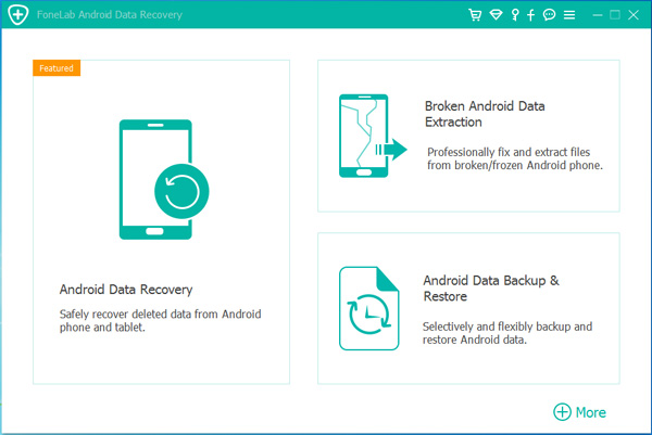 Velg Android Data Backup & Restore