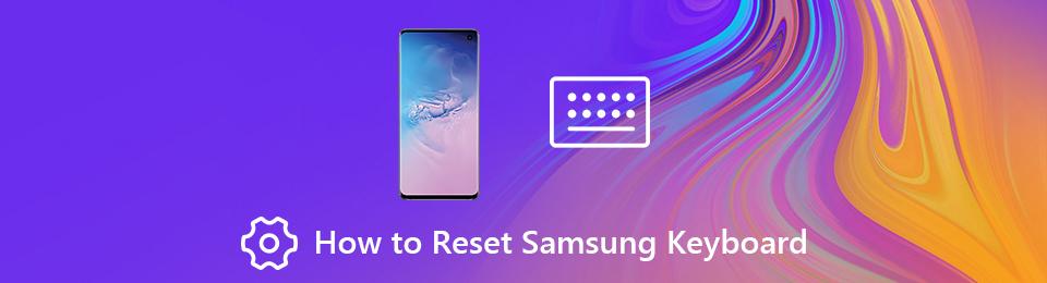 Restablecer teclado Samsung