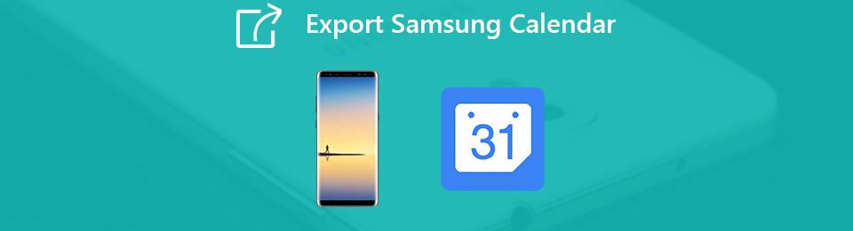 eksport samsung kalender