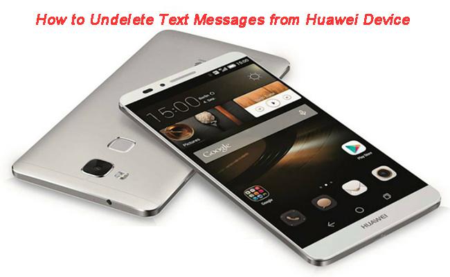 Huawei Mate 8 Datenrettung