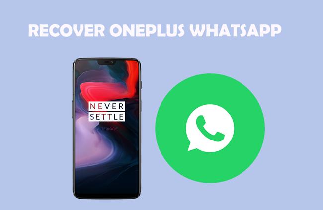 Så här återställer du borttagna WhatsApp-meddelanden för OnePlus