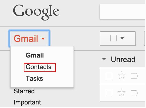 Helyezze vissza a Google-kapcsolatokat