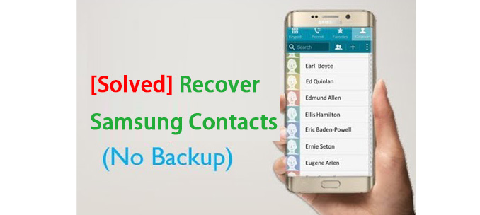 Recover Samsung Contacts