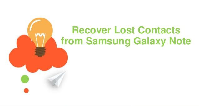 Samsung Kontakter Recovery