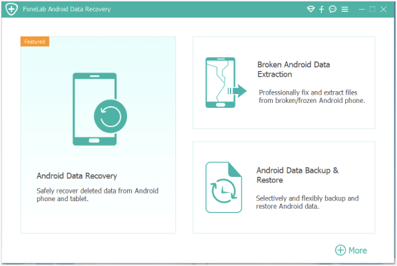 choose broken android data extraction