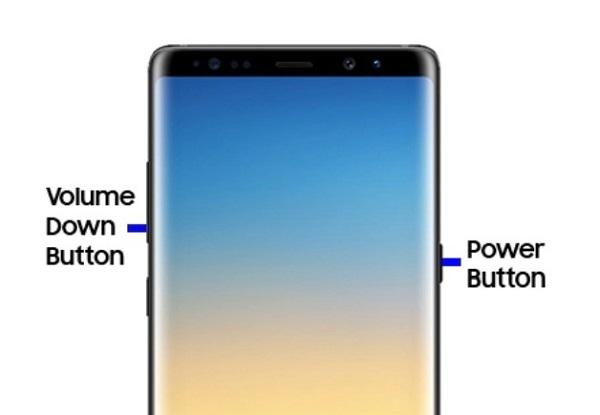 forcer le redémarrage de Samsung