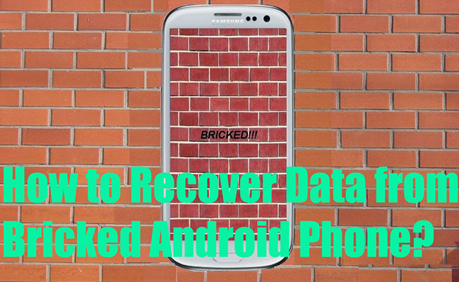 Recover Data from Bricked Android