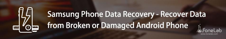 Återställ data från bruten eller skadad Android-telefon