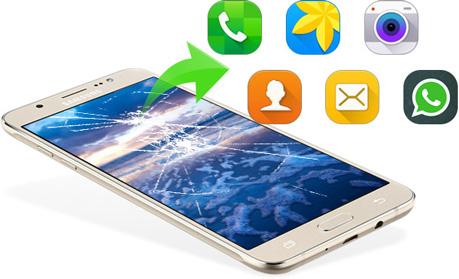 Helyezze vissza a Broken Samsung adatait