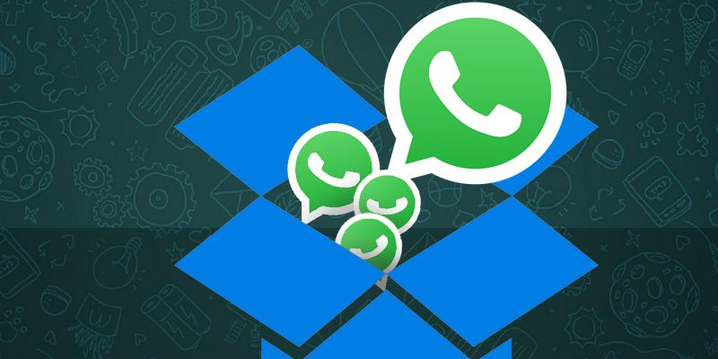 restaurar whatsapp con dropbox
