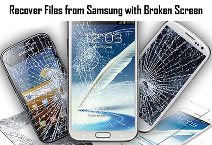 Récupérer des données d'un téléphone Android cassé