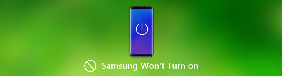 Sådan rettes Samsung Galaxy-telefon, der ikke kan tændes