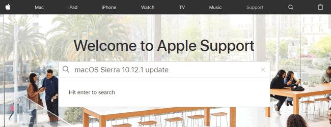 蘋果支持網站