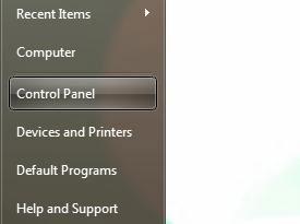 uruchomienie komputera i panel sterowania
