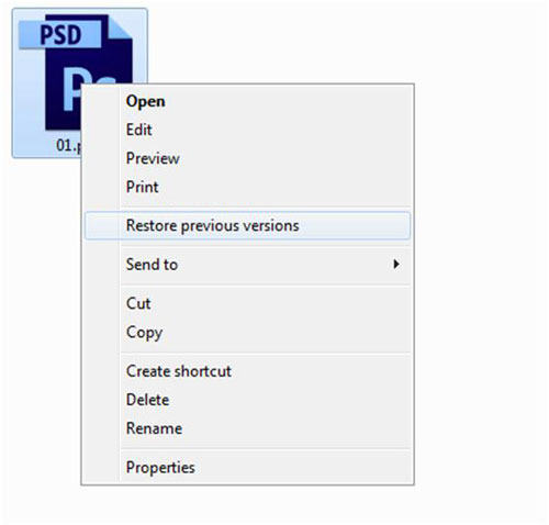 Recover and Repair corrupted PSD files corrupt psd file restore previous versions
