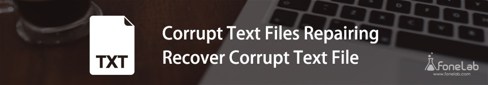 Repair and Recover Corrupt Text File