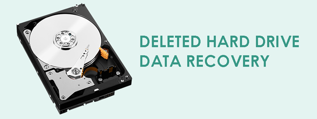 Récupération de données de disque dur supprimée