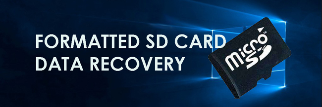 Formateret SD Card Data Recovery