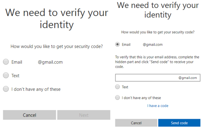 verify your identity