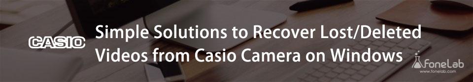 återhämta casio video