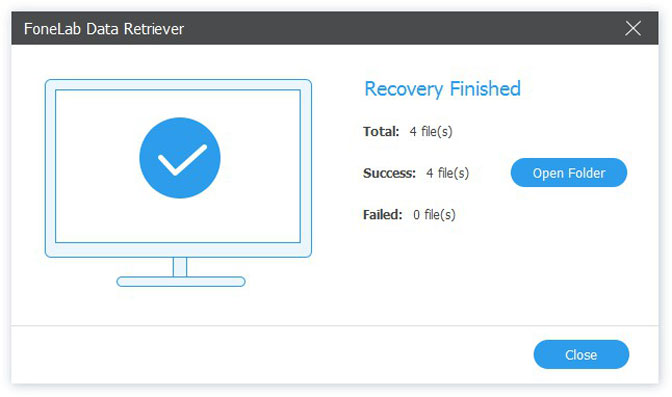 Recover and Repair corrupted PSD files recover data result