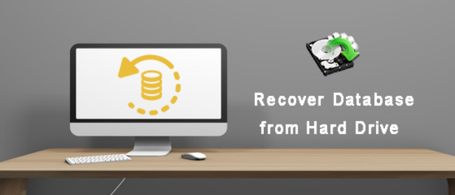 recover database from hard drive