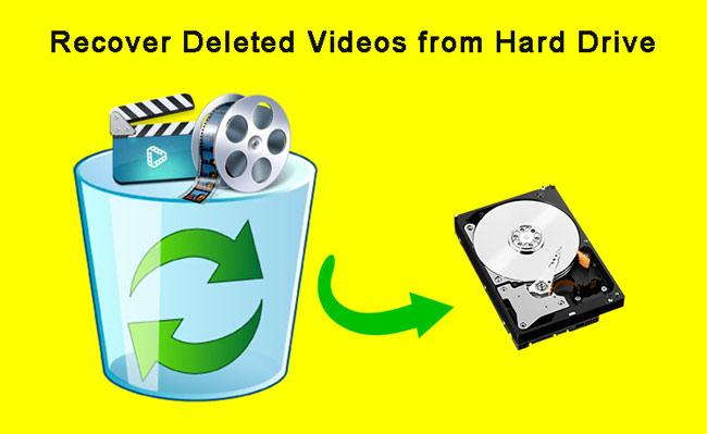 récupérer des vidéos à partir du disque dur