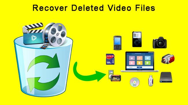 törölje a törölt videókat