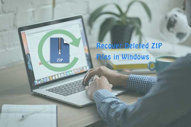 recuperar archivos zip en windows