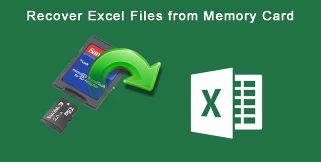 recover excel file from memory card