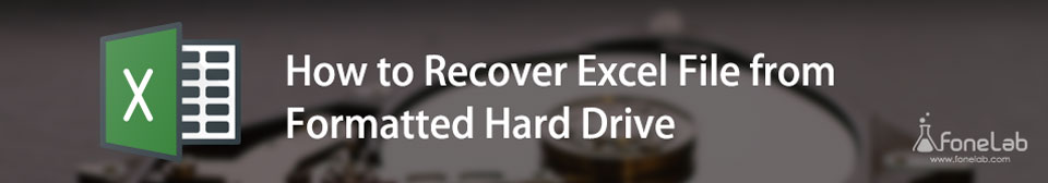 recover excel from hard drive