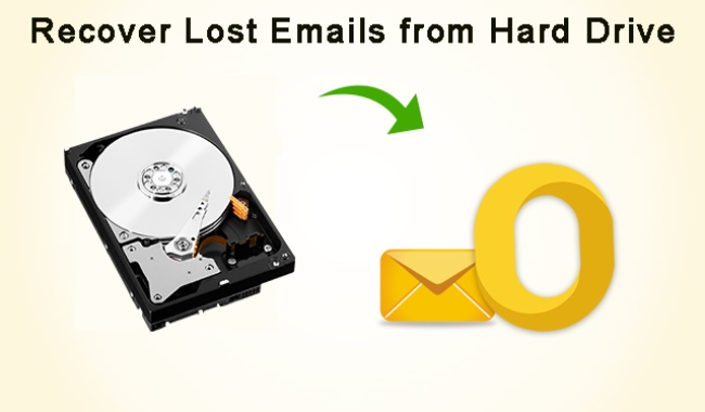 recover emails from hard drive
