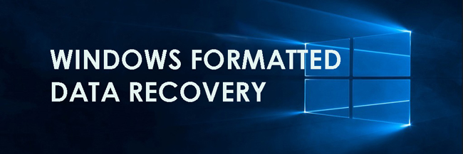 Windows Formateret Data Recovery