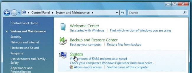 Windows rendszer karbantartása