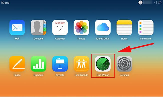 iPhone'umu Bul iCloud