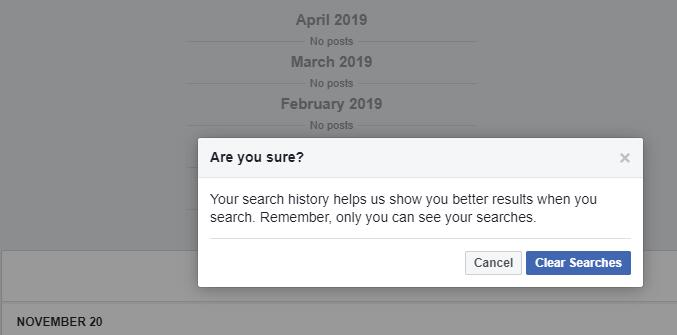 How to Delete Facebook Search History Completely and Quickly[2019