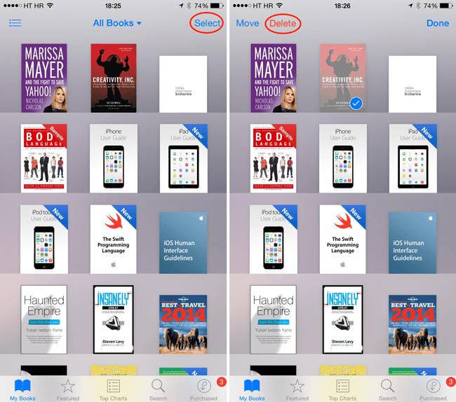 Usuń zawartość aplikacji w telefonie iPhone