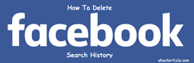 how to delete search history in the search bar