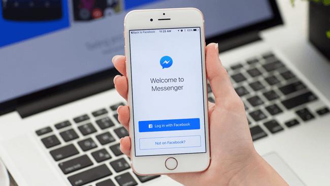 Slet Facebook-meddelelser på Messenger