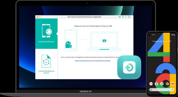 banner di download di recupero dati Android