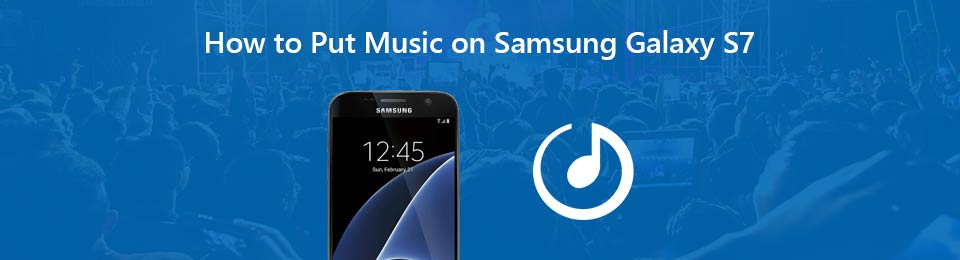 put music on samsung galaxy-s7
