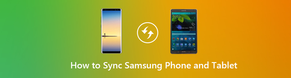 sync samsung phone to tablet