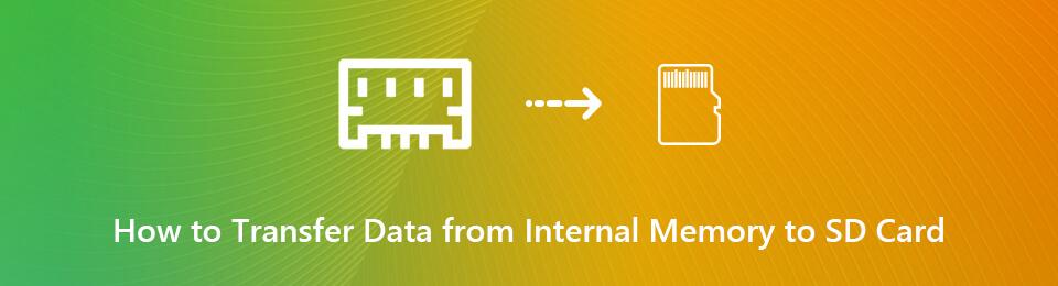 Sådan overføres data fra intern hukommelse til SD-kort (filer og apps)
