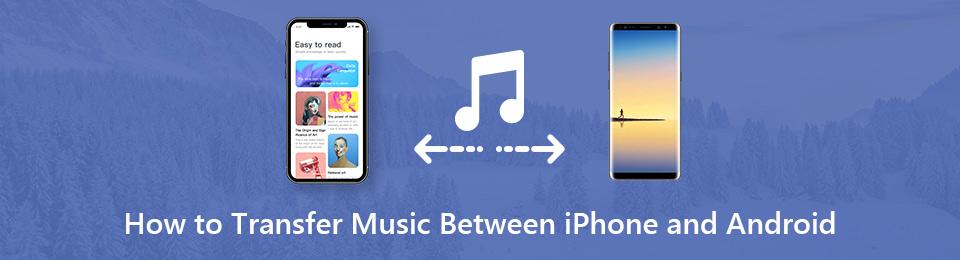İPhone ve Android arasında Müzik Nasıl Aktarılır