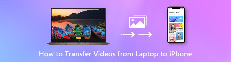 Hur man överför videor från bärbar dator till iPhone XS utan iTunes