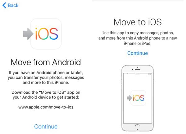 gå til ios app