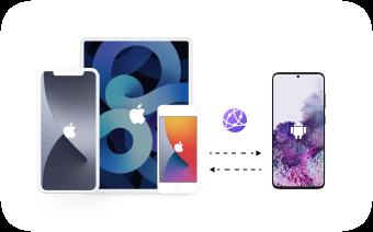 Fájlok átvitele iOS-iOS Android között